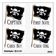 Jolly Roger Party Pack Room Decals