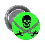 Jolly Roger Pinback Button