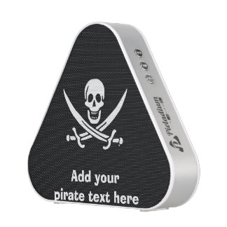 Jolly roger pirate flag bluetooth speaker