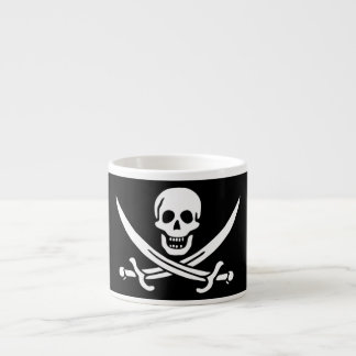 Jolly Roger Pirate Flag Espresso Cup