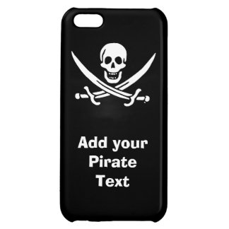 Jolly roger pirate flag iPhone 5C cases