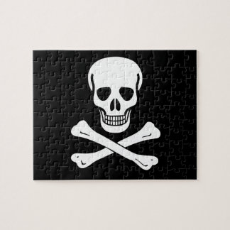 Jolly Roger Pirate Flag Jigsaw Puzzle