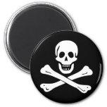 Jolly Roger Pirate Flag Magnet