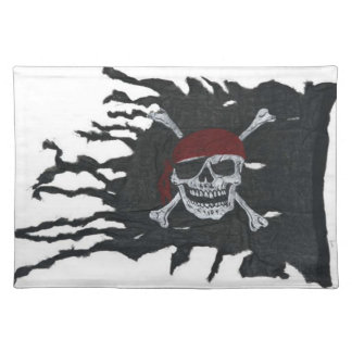 Jolly Roger Pirate Flag Placemat