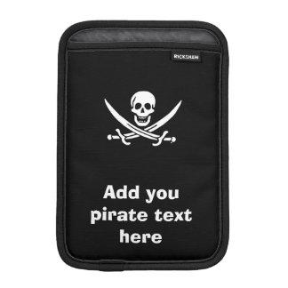Jolly roger pirate flag sleeve for iPad mini