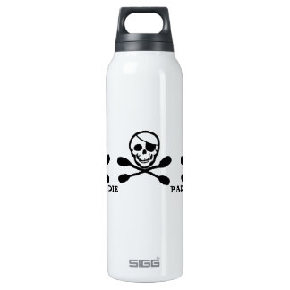 Jolly Roger Pirate Kayak 16 Oz Insulated SIGG Thermos Water Bottle