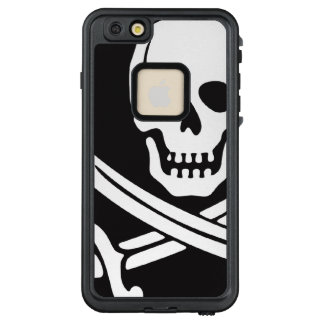 Jolly Roger Pirate LifeProof FRĒ iPhone 6/6s Plus Case