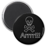 Jolly Roger Pirate Magnet