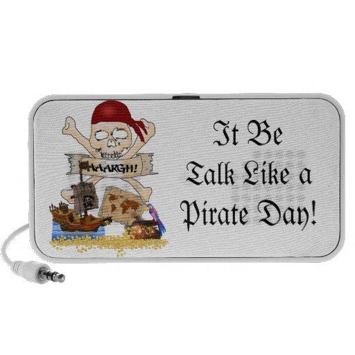Jolly Roger, Pirate Ship & Pirate's Chest Mini Speaker