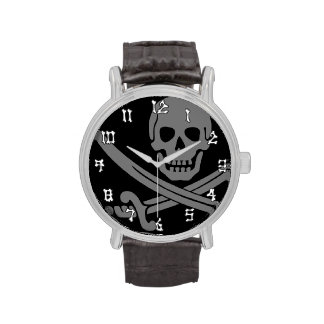 Jolly Roger Pirate Wrist Watches
