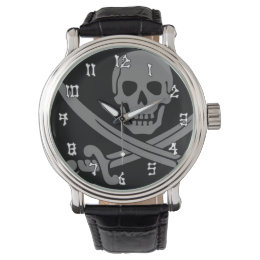 Jolly Roger Pirate Watch