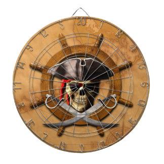 Jolly Roger Pirate Wheel Dartboards