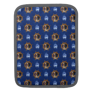 Jolly Roger Pirate Wheel Sleeves For iPads