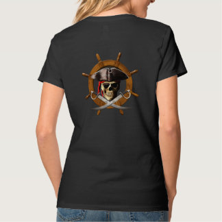 Jolly Roger Pirate Wheel T Shirt