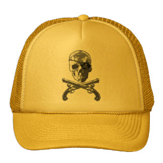 Jolly Roger Pistols Trucker Hat