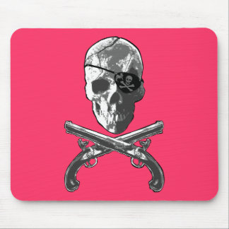 Jolly Roger Pistols Mouse Pad