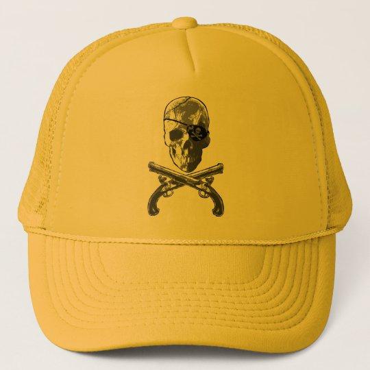 Jolly Roger Pistols Trucker Hat