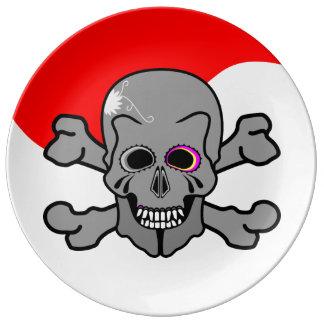 Jolly Roger Plate