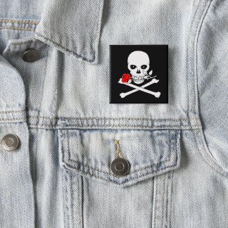 Jolly Roger (Rose)Button Button