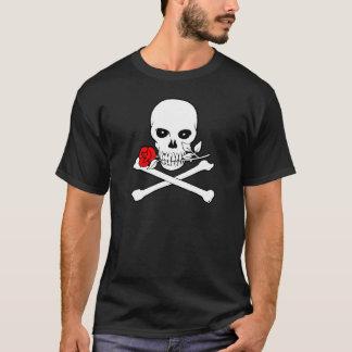 Jolly Roger (Rose)Dark T-Shirt
