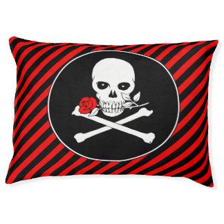 Jolly Roger (Rose) Pet Bed
