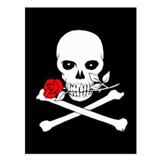 Jolly Roger (Rose)Postcard Postcard