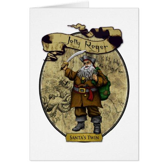 Jolly Roger - Santa's Twin Card