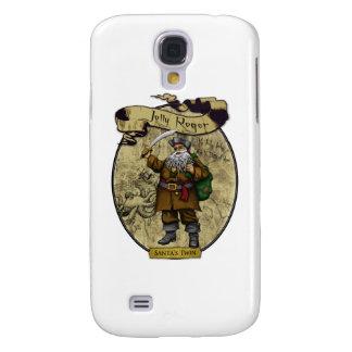 Jolly Roger - Santa's Twin Galaxy S4 Covers