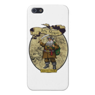 Jolly Roger - Santa's Twin iPhone 5 Cover