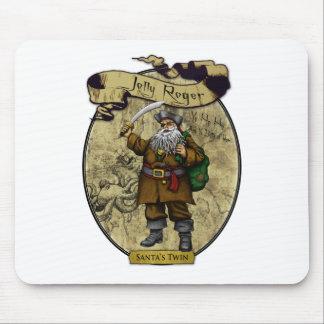 Jolly Roger - Santa's Twin Mouse Pad