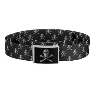 Jolly Roger Skull Belt