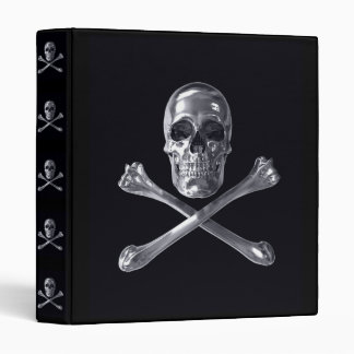 Jolly Roger Skull Binder