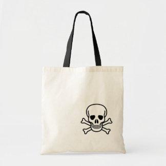 Jolly Roger Skull Budget Tote Bag