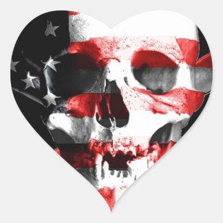 Jolly Roger Skull Crossbones Skull And Crossbones Heart Sticker