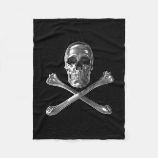 Jolly Roger Skull Fleece Blanket