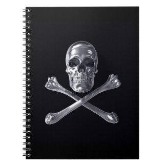 Jolly Roger Skull Notebook