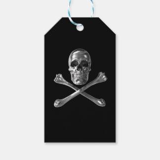 Jolly Roger Skull Pack Of Gift Tags