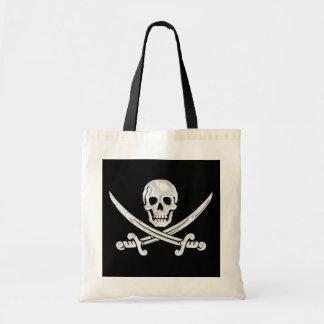 Jolly Roger Skull Tote Bag