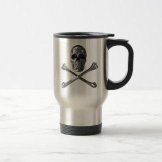 Jolly Roger Skull Travel Mug