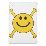 jolly roger smiley face iPad mini cover