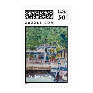 Jolly Roger, St. John B.V.I. Postage