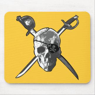 Jolly Roger Swords Mousepads