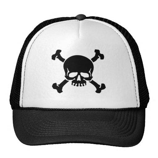 jolly-roger-tattoo mesh hat