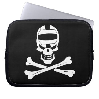 Jolly Roger Water Polo Pirate Flag Laptop Case Laptop Computer Sleeve