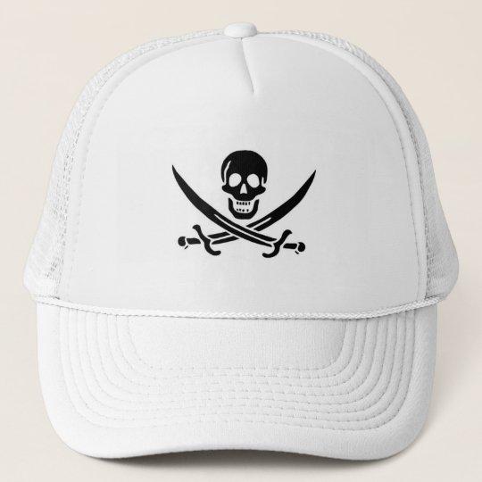 Jolly Rogers Trucker Hat