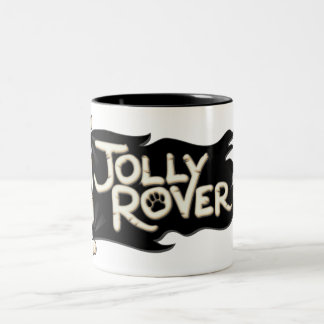 Jolly Rover Black Mug