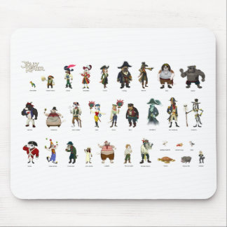 Jolly Rover Characters Mousepads