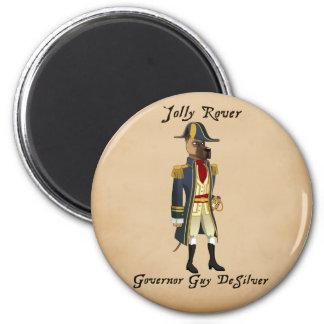 Jolly Rover - Desilver Magnet