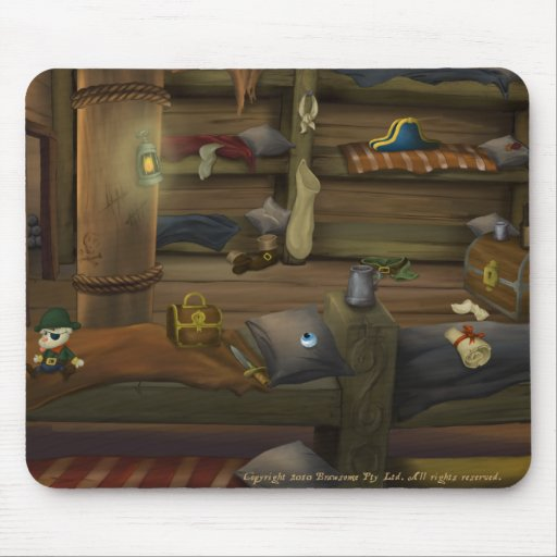 Jolly Rover Mouse Pad