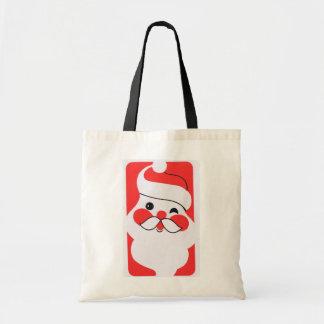 Jolly Santa Claus Tote Bag